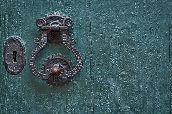 Photograph - Dubrovnik Door Knocker by Stuart Litoff