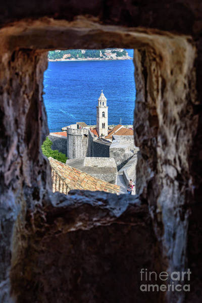 Photograph - Dubrovnik, Kings Landing In Game Of Thrones, Through The City Walls, Dubrovnik, Croatia by Global Light Photography - Nicole Leffer