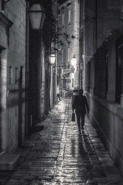 Dubrovnik Photograph - Dubrovnik Nightlife 3 by Chris Fletcher
