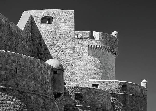 Dubrovnik Photograph - Dubrovnik Old Town Walls by Dave Bowman