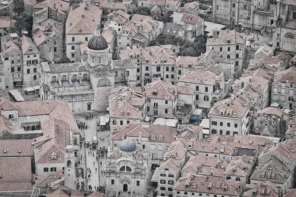Photograph - Dubrovnik Rooftops #2 by Stuart Litoff