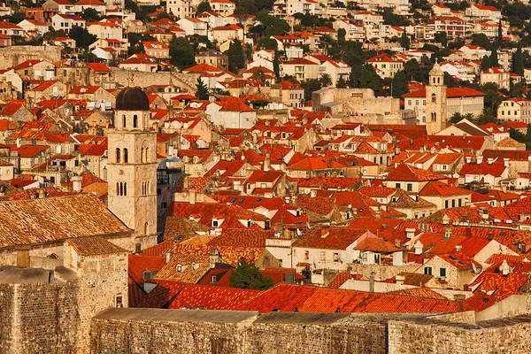 Photograph - Dubrovnik Rooftops #4 by Stuart Litoff