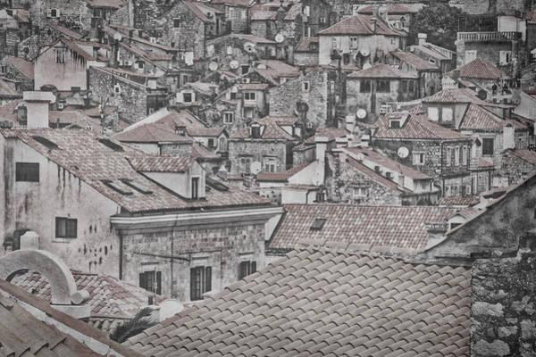 Photograph - Dubrovnik Rooftops #5 by Stuart Litoff
