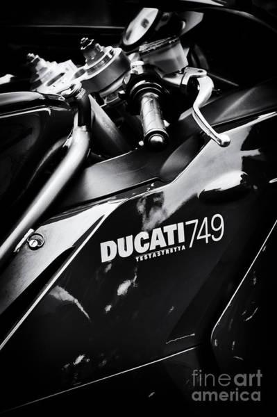 Photograph - Ducati 749 Testastretta by Tim Gainey