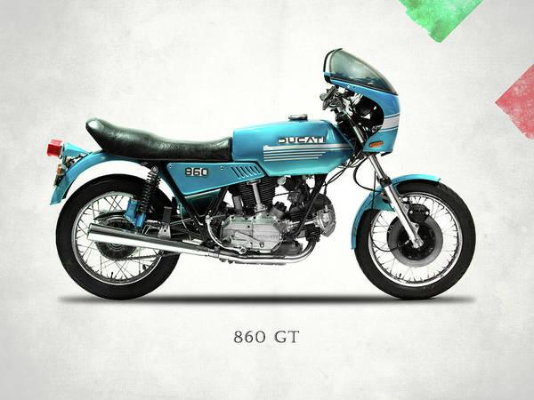 Ducati Bike Photograph - Ducati 860 Gt 1975 by Mark Rogan