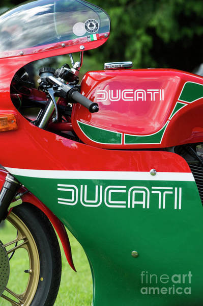 Wall Art - Photograph - Ducati 900 Mike Hailwood Replica by Tim Gainey