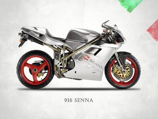 Ducati Bike Photograph - Ducati 916 Senna by Mark Rogan