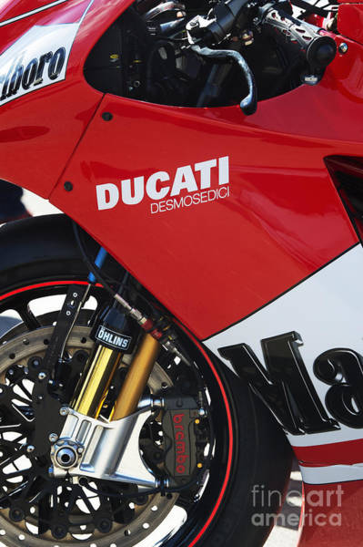 Photograph - Ducati Desmosedici by Tim Gainey