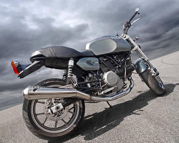 Photograph - Ducati Gt 1000 by Gill Billington