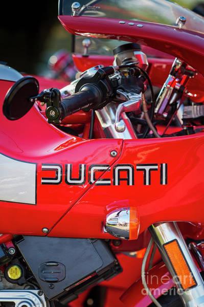 Photograph - Ducati Mh900 Evoluzione Portrait by Tim Gainey