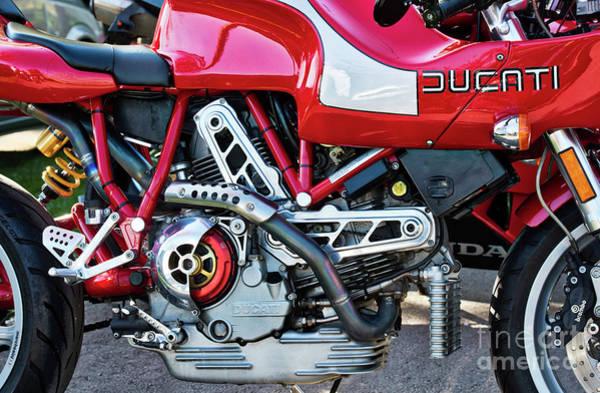 Photograph - Ducati Mh900 Evoluzione by Tim Gainey
