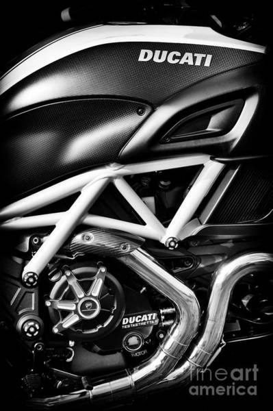 Photograph - Ducati Monster by Tim Gainey