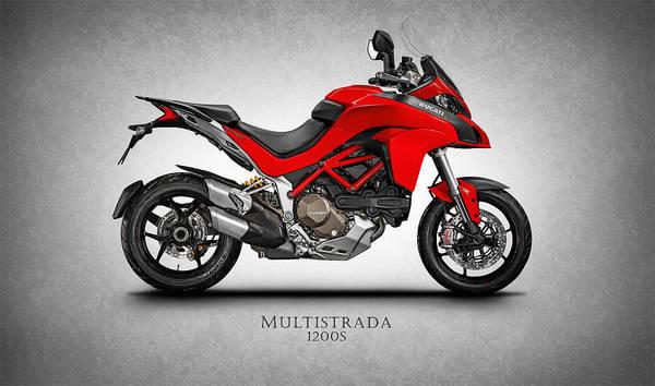 Ducati Bike Photograph - Ducati Multistrada by Mark Rogan