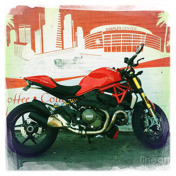 Wall Art - Photograph - Ducati by Nina Prommer