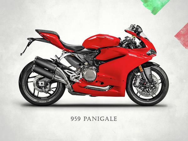 Ducati Bike Photograph - Ducati Panigale 959 by Mark Rogan