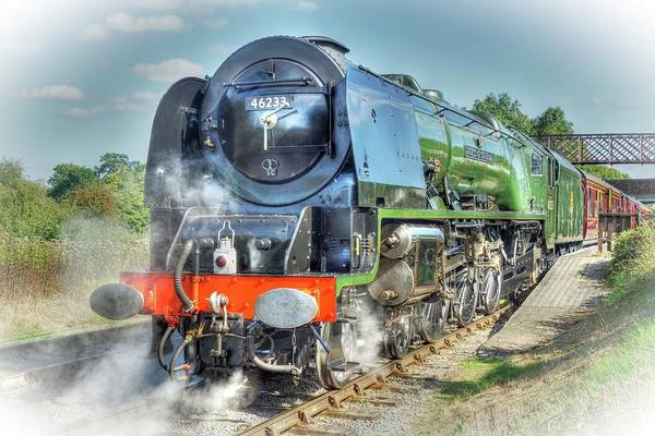 Photograph - Duchess At Butterley Station by David Birchall