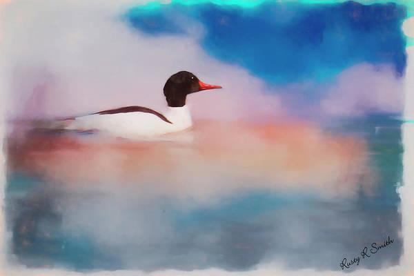 Digital Art - Duck Dreaming by Rusty R Smith