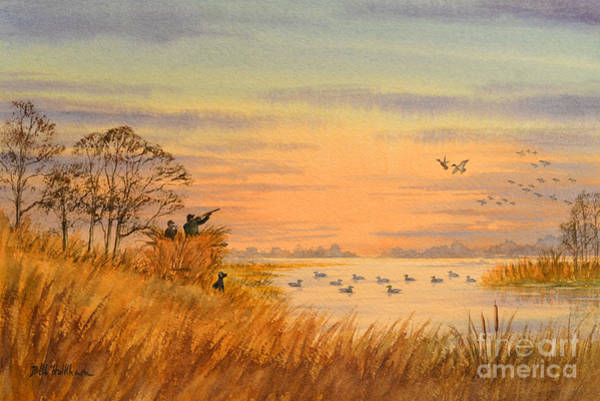 Wall Art - Painting - Duck Hunting Calls by Bill Holkham