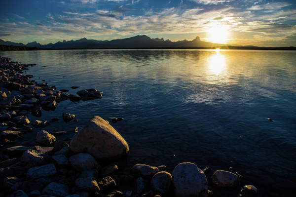 Photograph - Duck Lake Evening by Jedediah Hohf