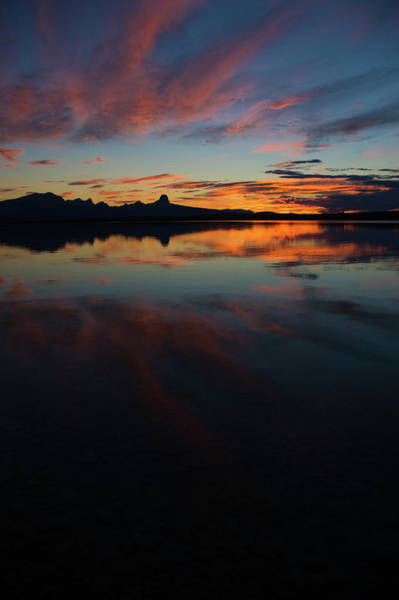 Photograph - Duck Lake Sunset 2 by Jedediah Hohf