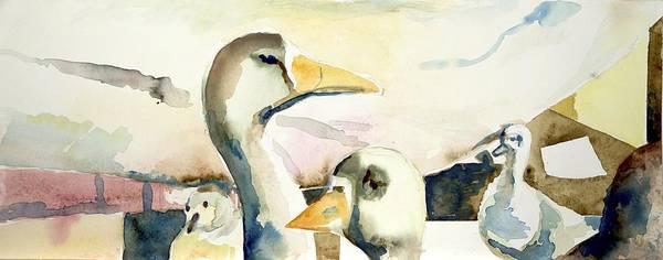 Ducks And Geese Art Print