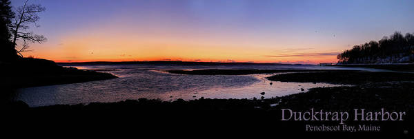 Photograph - Ducktrap Harbor Sunrise by John Meader