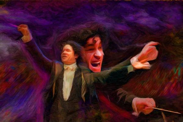 Digital Art - Dudamel by Caito Junqueira