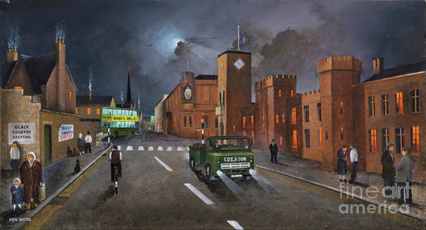 Painting - Dudley, Capital Of The Black Country by Ken Wood