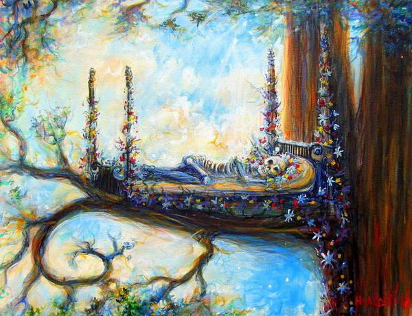 Wall Art - Painting - Duermase by Heather Calderon