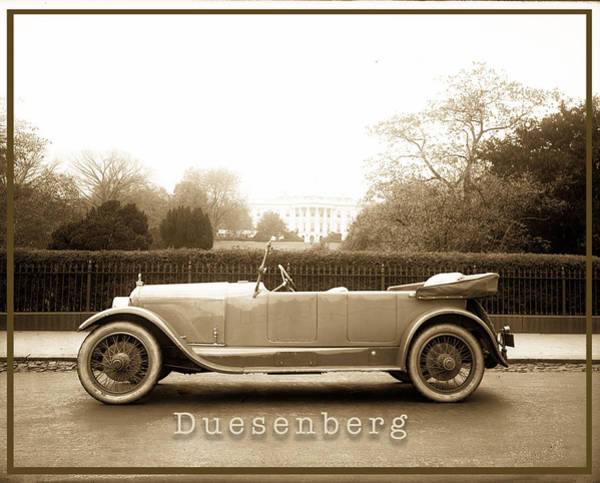 Photograph - Duesenberg by Carlos Diaz