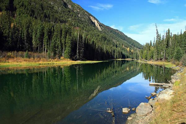 Photograph - Duffey Lake Reflection by Pierre Leclerc Photography