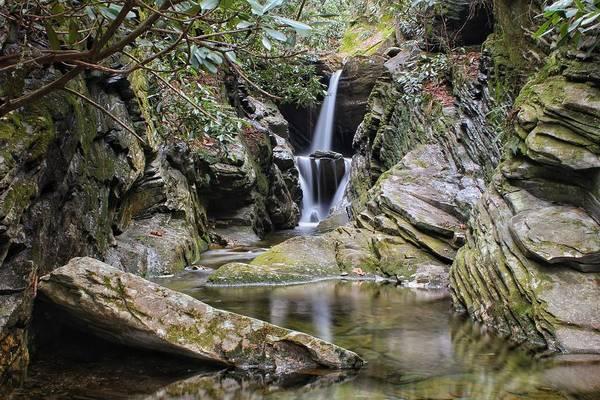 Photograph - Duggers Creek Falls by Chris Berrier