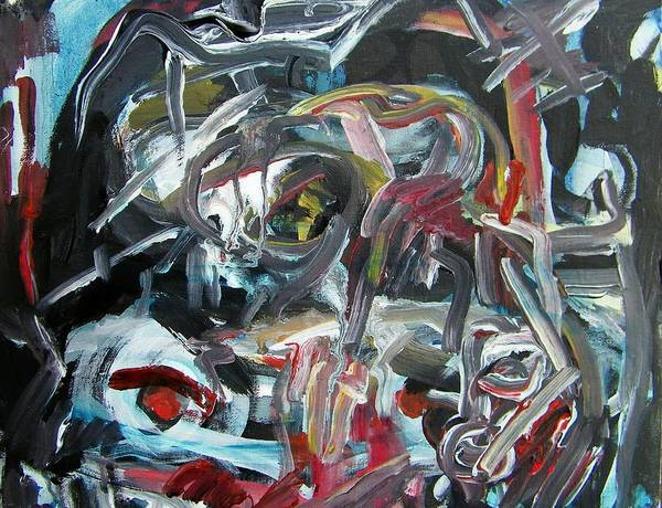 Car Accident Painting - Dui Collision by Judith Redman