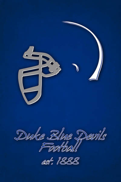 Duke University Photograph - Duke Blue Devils by Joe Hamilton