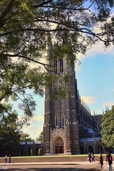 Photograph - Duke Chapel - Early Autumn by Paulette B Wright