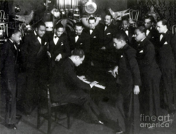 Notable Photograph - Duke Ellington And Cotton Club by Science Source