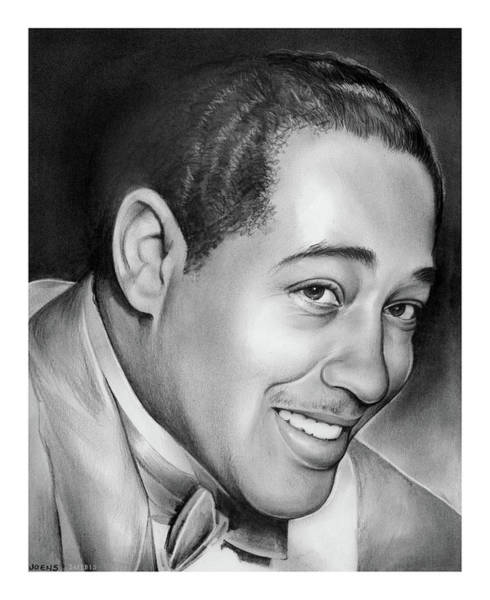 Portraits Drawing - Duke Ellington by Greg Joens