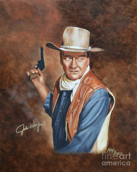 Mary Rogers Painting - Duke by Mary Rogers