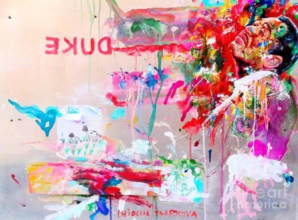 Wall Art - Painting - Duke by Massimo Chioccia