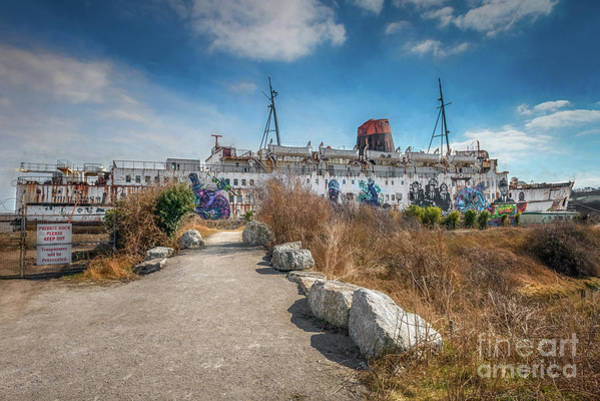 Wall Art - Photograph - Duke Of Lancaster Graffiti by Adrian Evans