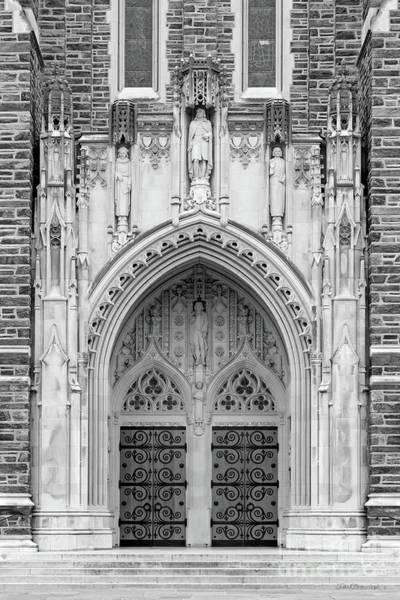 Photograph - Duke University Chapel Doors by University Icons