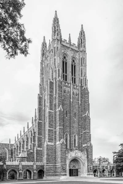 Photograph - Duke University Chapel Side View by University Icons