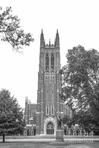 Photograph - Duke University Chapel by University Icons