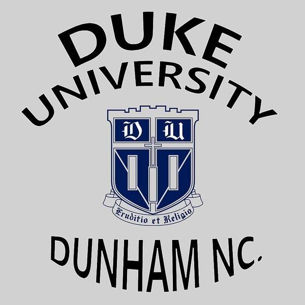 Digital Art - Duke University Dunham N C  by Movie Poster Prints