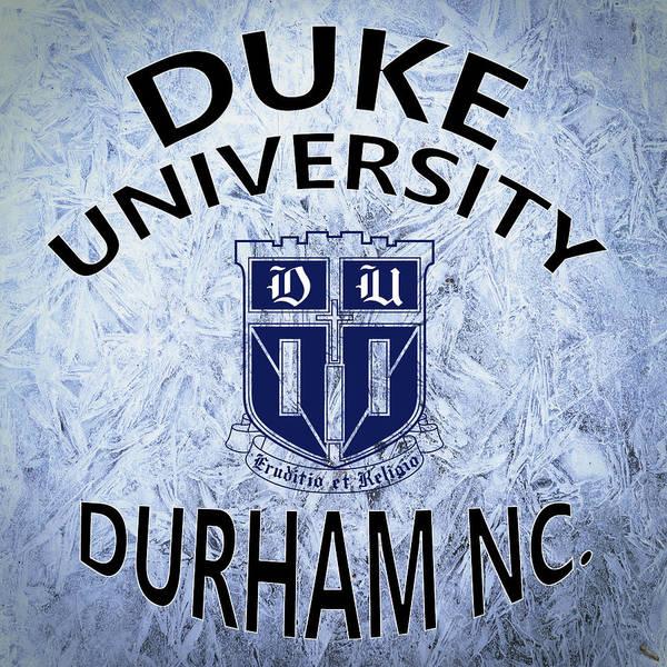 Digital Art - Duke University Durham Nc by Movie Poster Prints