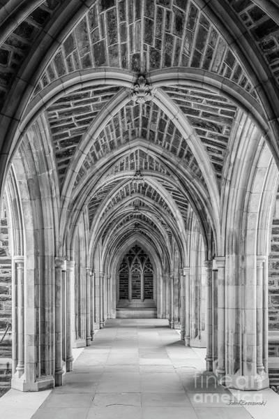 Photograph - Duke University Stone Arches by University Icons