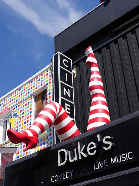 Photograph - Dukes At Komedia - Yes You Can Can by Richard Reeve