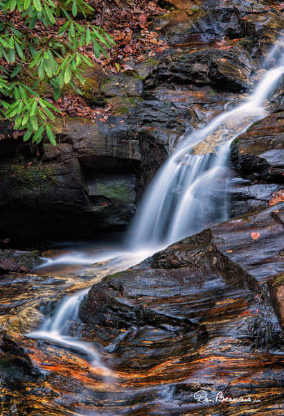 Photograph - Dukes Creek Falls 5295 by Dan Beauvais