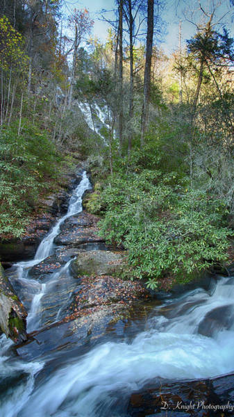 Photograph - Dukes Creek Falls by Dillon Kalkhurst