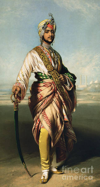 Wall Art - Painting - Duleep Singh, Maharajah Of Lahore by Franz Xaver Winterhalter